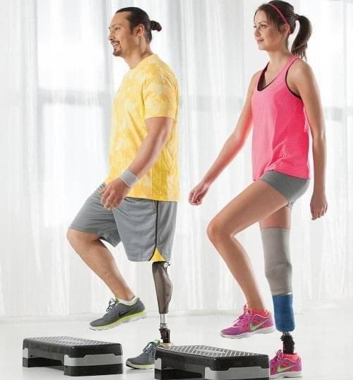 Ben amputations træning & behandling 1